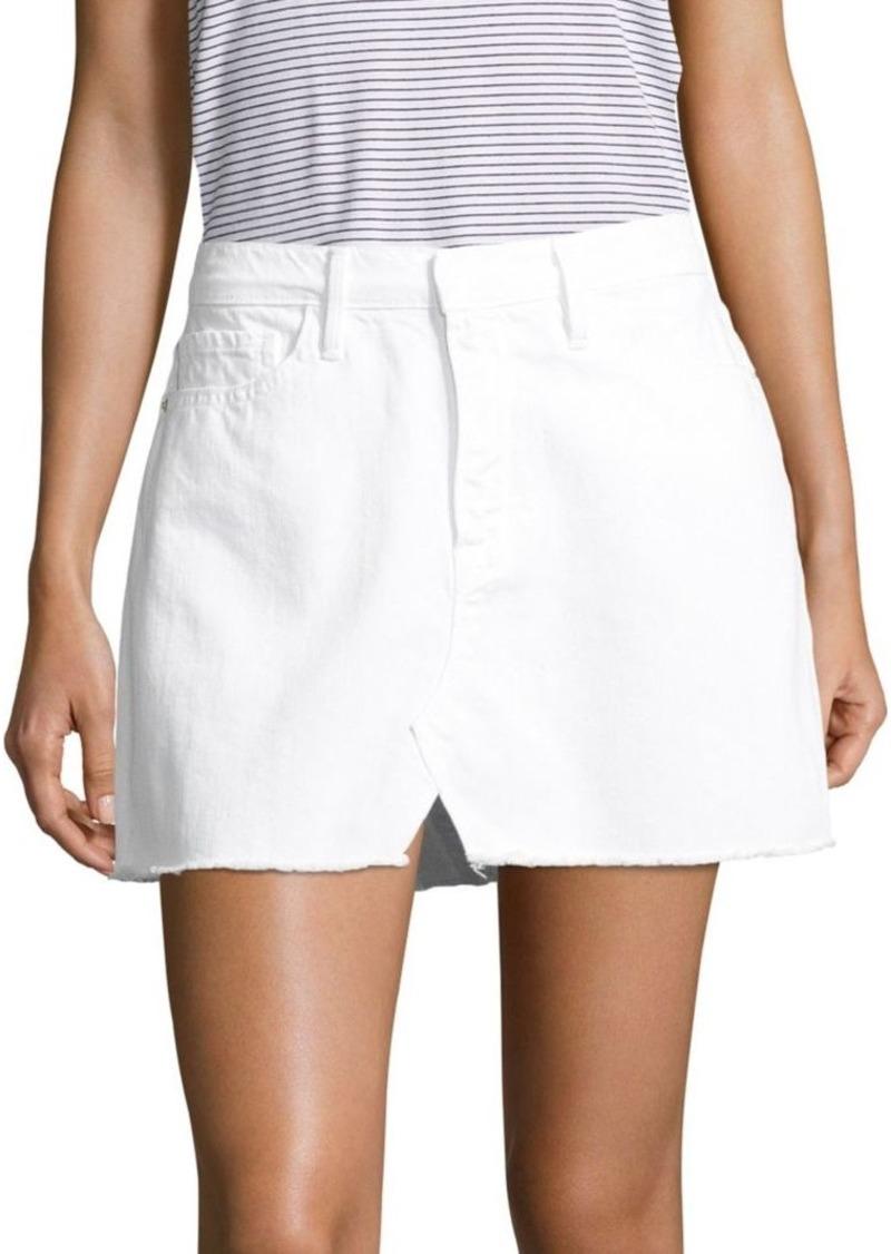 88806da01 FRAME Le Frayed Denim Mini Skirt | Skirts