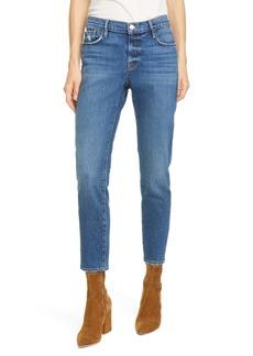 FRAME Le Garcon Ankle Slim Boyfriend Jeans (Solana)