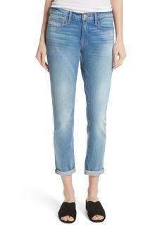 FRAME Le Garcon Crop Slim Boyfriend Jeans (Silva)
