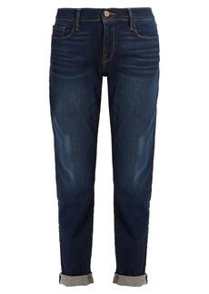 Frame Le Garcon mid-rise straight-leg boyfriend jeans