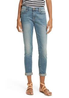 FRAME Le Garçon Crop Boyfriend Jeans (Storm)