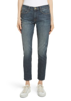 FRAME Le Garçon Crop Boyfriend Jeans (Woodhay)