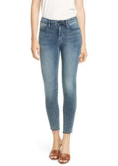 FRAME Le High Ankle Skinny Jeans (Beat)