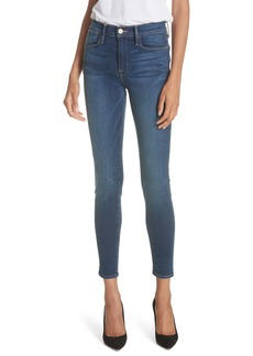 FRAME Le High Ankle Skinny Jeans (Columbia Road)