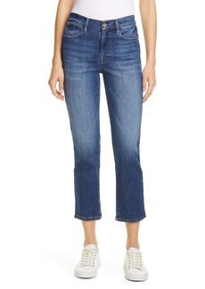 FRAME Le High Ankle Straight Leg Jeans (Bestia)