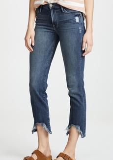 FRAME Le High Cave Hem Jeans