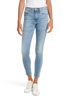 FRAME Le High Crop Skinny Jeans (Loehr)