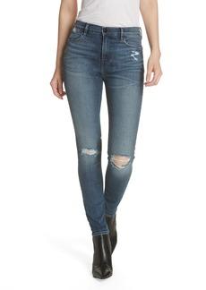 FRAME Le High Crop Skinny Jeans (Magellan)