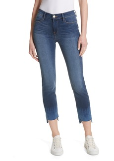 FRAME Le High Crop Straight Leg Jeans
