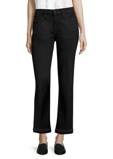 FRAME Le High Denim Straight Jeans