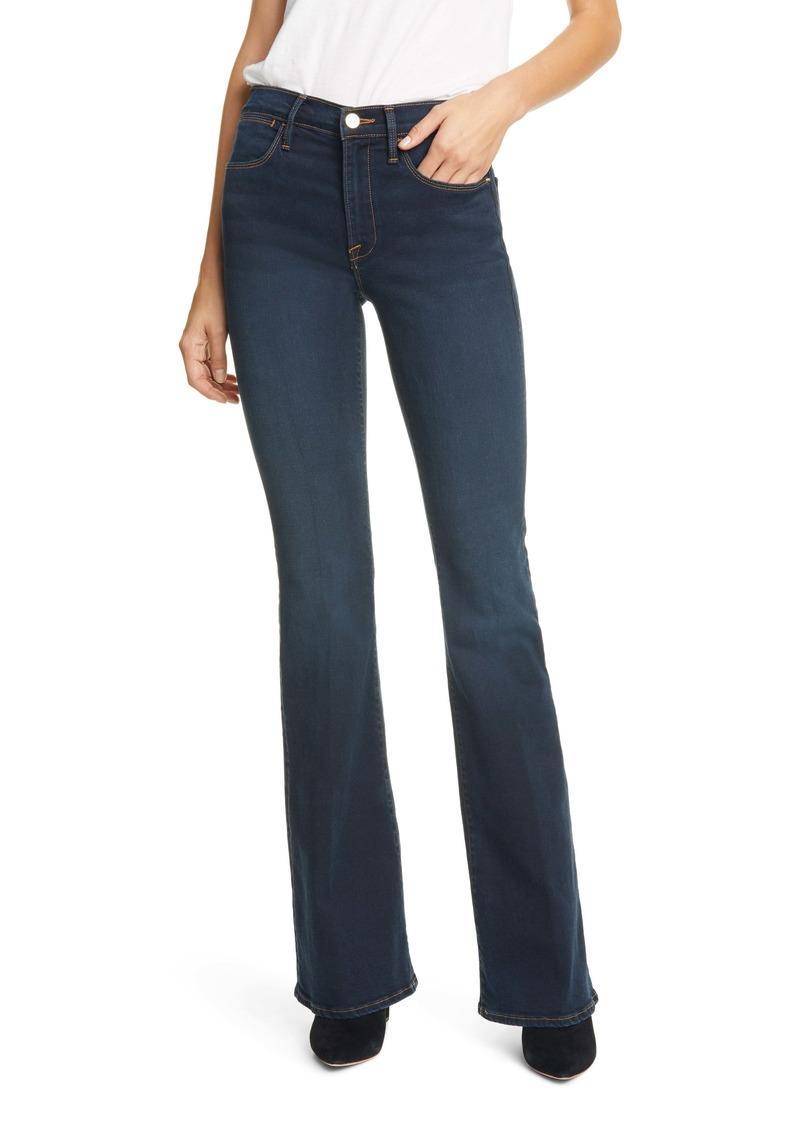 FRAME Le High Flare Jeans (Moxie)