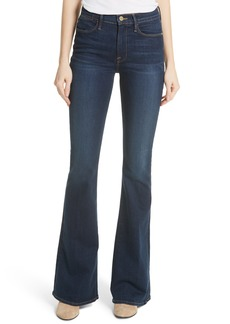 FRAME Le High Flare Jeans (Province)