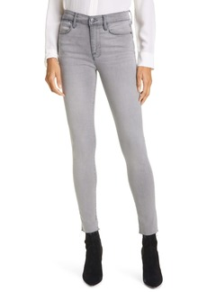 FRAME Le High Raw Edge Ankle Skinny Jeans
