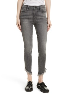 FRAME Le High Shredded Skinny Jeans (Berwick)
