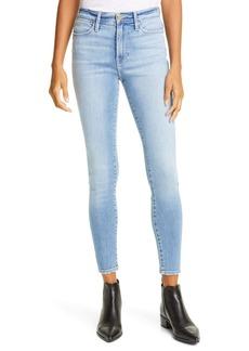 FRAME Le High Skinny Ankle Jeans (Hidalgo)