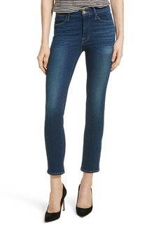 FRAME Le High Skinny Ankle Jeans (Murray Field)