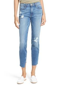 FRAME Le High Skinny Cascade Hem Jeans (Arenas) (Nordstrom Exclusive)