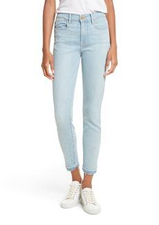 FRAME Le High Skinny Crop Jeans (Prospect)