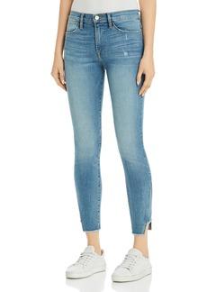 FRAME Le High Skinny Gusset Step Hem Jeans in Brummel