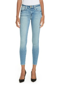 FRAME Le High Skinny Jeans (Dupont Drive)