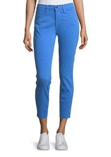 FRAME Le High Skinny-Leg Jeans w/ Raw-Edge Hem