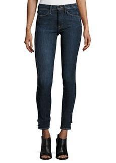 FRAME Le High Skinny Side Step Jeans