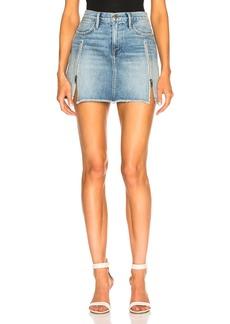 FRAME Le High Skirt with Zipper