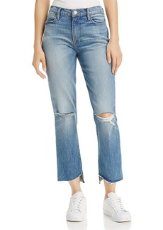 Frame Le High Step Hem Crop Flare Jeans in Arrington - 100% Exclusive