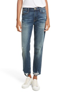 FRAME Le High Straight High Rise Jeans (Randolph)