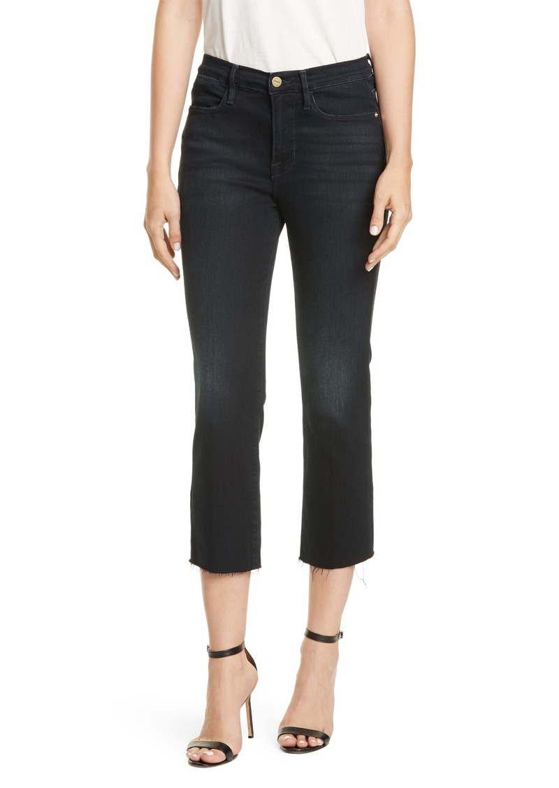 FRAME Le High Straight Leg Ankle Jeans