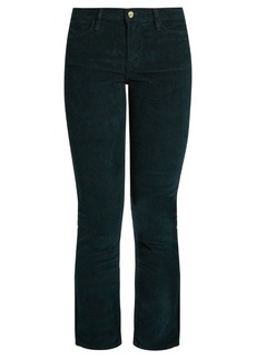 Frame Le High straight-leg corduroy trousers