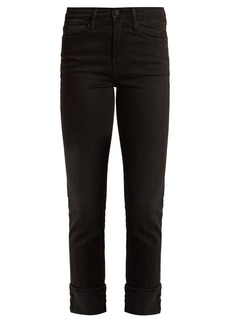 Frame Le High straight-leg stretch-denim jeans