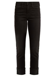 Frame Le High straight-leg stretch-denim jeans