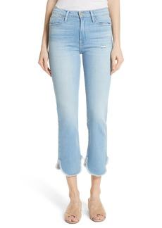 FRAME Le High Straight Petal Hem Jeans (Boxford)