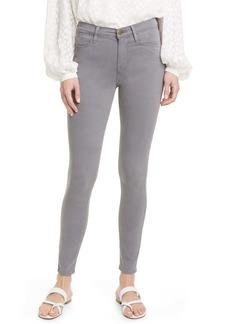 FRAME Le High Waist Sateen Skinny Jeans