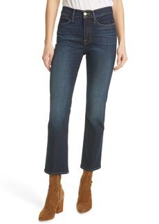 FRAME Le High Waist Straight Leg Jeans (Fremont)