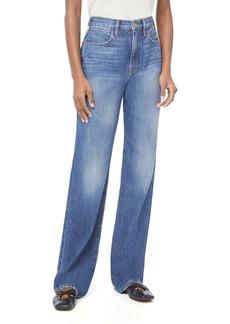 FRAME Le Jane Nonstretch High Waist Wide Leg Jeans (Dorsey)