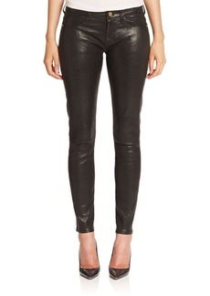 FRAME Le Leather Skinny Pants