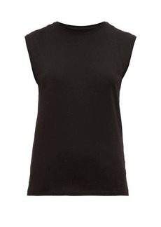Frame Le Mid cotton-jersey tank top