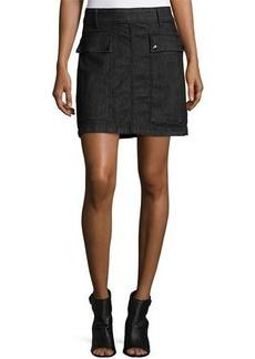 FRAME Le Mini A-Line Broome Street Skirt