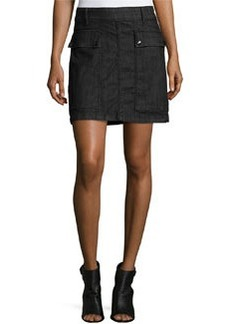 FRAME Le Mini A-Line Broome Street Skirt