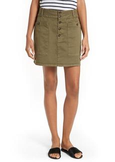 FRAME Le Mini Chino Skirt