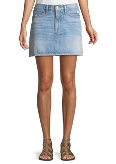 FRAME Le Mini Denim Skirt