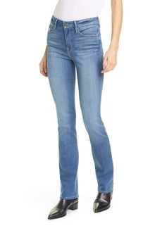FRAME Le Mini High Waist Bootcut Jeans (Hillview)
