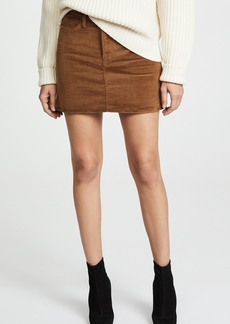 FRAME Le Mini Skirt