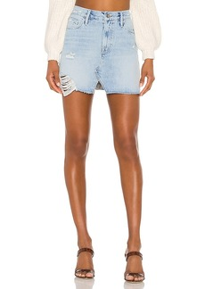 FRAME Le Mini Split Front Skirt