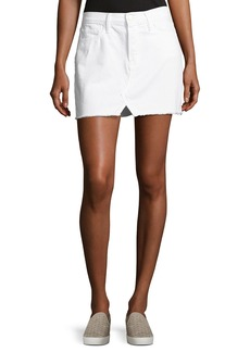 FRAME Le Mini Split Front Skirt