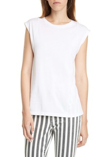 FRAME Le Muscle Pima Cotton Tee