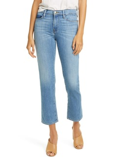 FRAME Le Nouveau Mix Pocket High Waist Ankle Jeans (Avila)