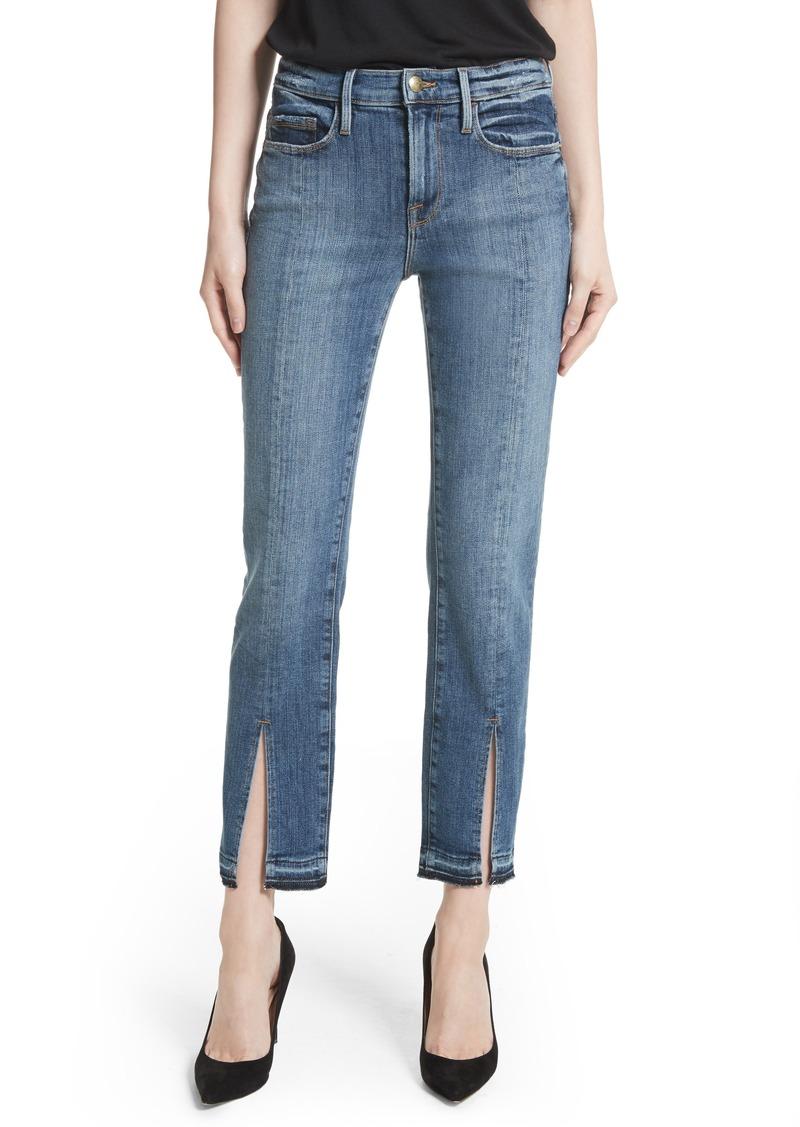 Exclusive Denim Adidas Top Ten 2000 Swaggy P Pes For: FRAME FRAME Le Nouveau Split Hem Jeans (Sheffield